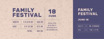 Family Festival Announcement
