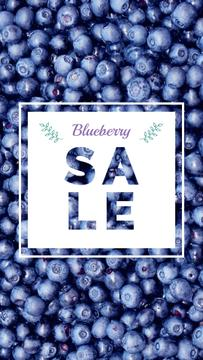 Raw ripe Blueberries sale