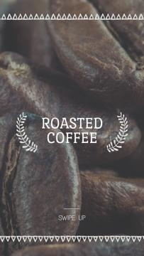 Coffee Shop Invitation Roasted Beans