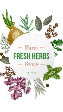 Farm Natural Herbs Frame