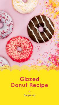 Delicious glazed Donuts