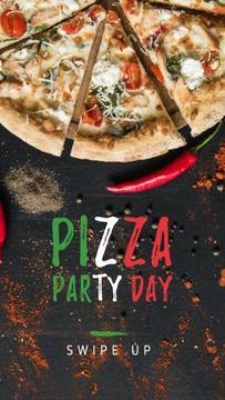 Pizza Party Day celebrating food