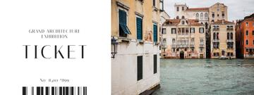 Old Venice buildings