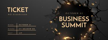 Business Summit Announcement in Wall's Hole