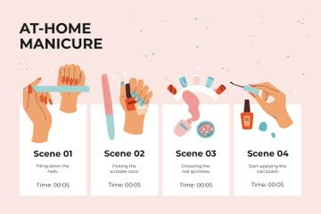 Salon Manicure procedure