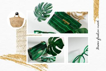 Fashion Accessories in green colors