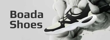 Sports Shoes Offer in Black and White