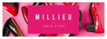 Female fashionable shoes store