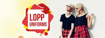 Back to School Sale Girls in Uniform