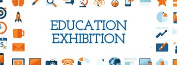 Education Exhibition Bright Sciences Icons