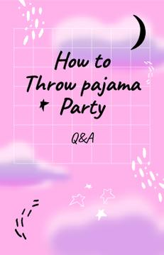 Pajama Party dreamy pattern