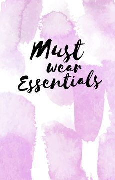 Fashion and Style tips on watercolor