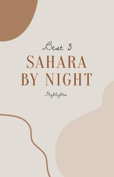 Sahara Travel inspiration