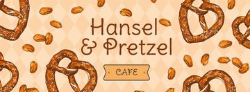 Delicious baked Pretzels