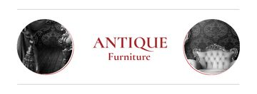Antique Furniture Auction with armchair