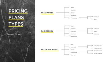Pricing Plan model types