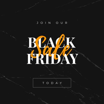 Black Friday sale on marble
