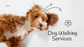 Dog Walking Services promotion