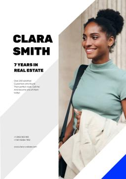 Real Estate Agent Smiling Woman