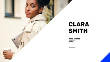 Real Estate Agent Confident Woman