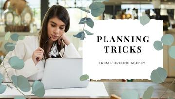Wedding Agency Businesswoman by Laptop