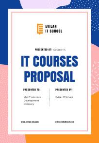 Proposal 21 × 29.7 сm