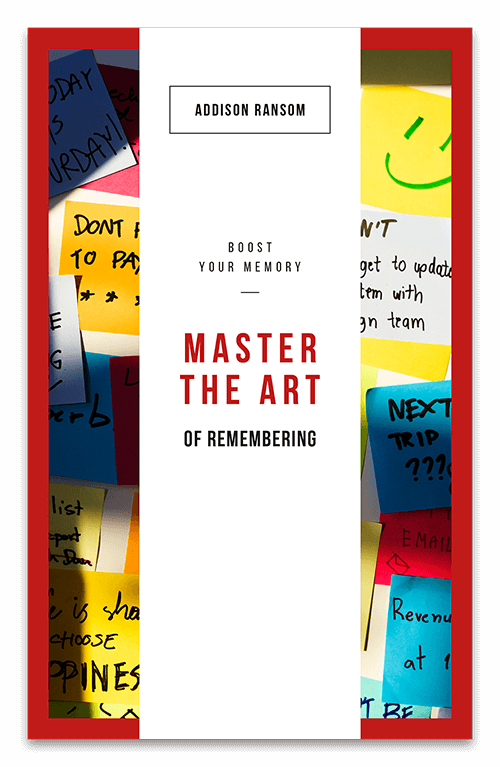 Master the art page one