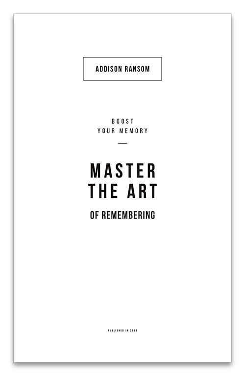 Master the art page two