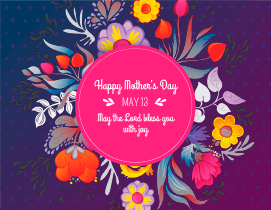 Mother's Day print materials