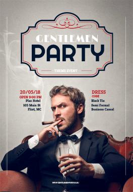 Party print materials