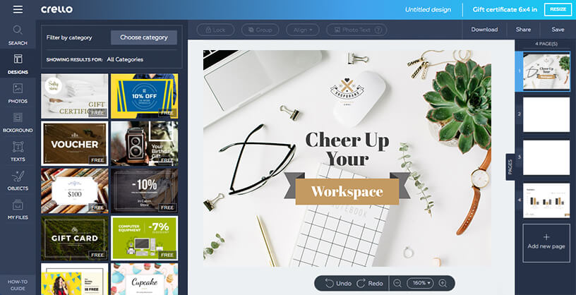 design presentations for free online presentation maker crello