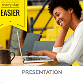 Choose a presentation format